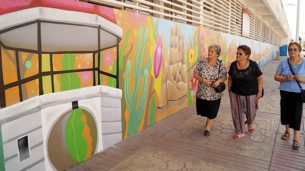 municipio-inaugura-mural-mayores-perla-del-norte-en-sector-gran-avenida